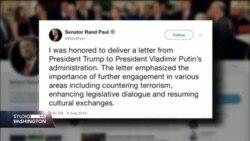 Trumpovo pismo Putinu