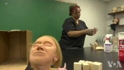 更多女性面孔出现在殡仪馆业