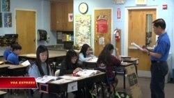 Một ngày học tiếng Việt của trẻ em gốc Việt ở hải ngoại