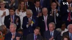 Український прапор під серцем у американського конгресмена. Відео