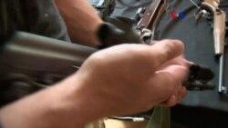 Bajan ventas de armas en EE.UU.
