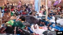 Baqattoota Tigraay mooraa Um Rakuubaa keessa jiran, Sudaan, Sadaasa 16, 2020
