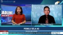 Laporan VOA untuk MetroTV: Dampak Pemilu Paruh Waktu