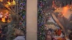 As famosas montras de Natal de NYC