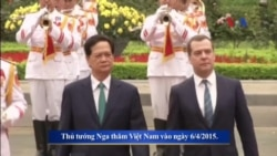 Nga tìm cách thắt chặt các quan hệ với Việt Nam