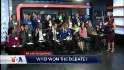 VOA's Diaspora Panel on the Debate