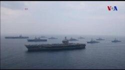 Mỹ, Nhật khoe cơ bắp ngay sát Bắc Triều Tiên