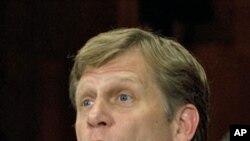 美國新任駐俄羅斯大使邁克爾.麥克福爾(資料圖片)