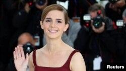 Aktris Emma Watson di festival film Cannes. (Foto: Dok)