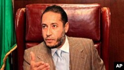 نائیجر کا قذافی کے بیٹے کوملک بدر کرنےسے انکار