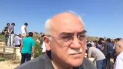 Jurnalist Rasim Əliyev dəfn edildi: İsa Qəmbərin çıxışı