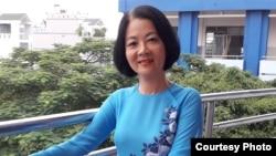 Bà Huỳnh Thị Út, giáo viên dạy văn cấp 2, mẹ của nhà hoạt động Trần Hoàng Phúc.