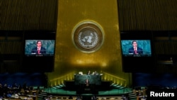 Cuba's Foreign Minister Bruno Rodriguez Parrilla at UN