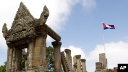 The deadly clashes in February left at least 10 people dead and damaged Preah Vihear temple, a World Heritage site.