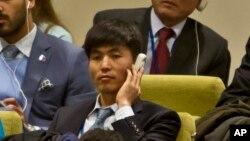 Ông Shin Dong Hyuk, người đào tị và nhà tranh đấu cho nhân quyền Bắc Triều Tiên.