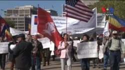 Demonstrators Decry 'Crimea-like' Policies in Vietnam