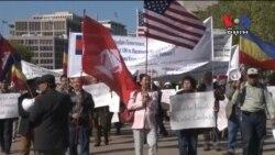 Demonstrators Decry 'Crimea-like' Policies in Vietnam