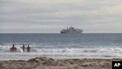 Polaganje optičkih kablova uzduž obale savezne države Oregon