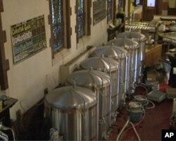 教堂啤酒屋的酿酒区