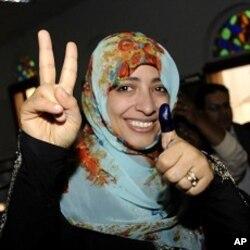 Yaman ayollari yetakchisi bugun Tinchlik uchun Nobel mukofoti sovrindori Tavakul Karmon