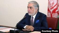 عبدالله عبدالله رئیس اجراییۀ افغانستان