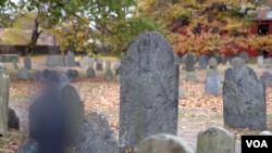 Кладбище, на котором похоронены жертвы судебного процесса над ведьмами