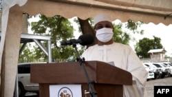 Mahamat Saleh Annadif, intumwa idasanzwe ya ONU muri Mali, Bamako, kw'italiki 03/06/2020.