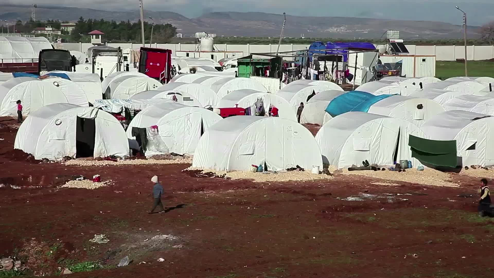 Սիրիայի փախստականների ծանր պայմանները