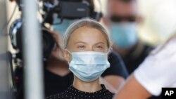 aktivistja për klimën Greta Thunberg