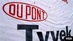 Cat produksi DuPont biasa digunakan pada industri rumah dan bangunan (Foto: dok).
