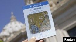 """La encíclica papal """"Laudato Si"""" es presentada en el Vaticano."""