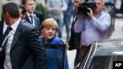 Nemačka kancelarka Angela Merkel stiže u Milano, gde se održava samit evropskih i azijskih lidera