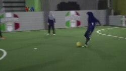 Futsal Hibur Pengungsi Muda Hazara