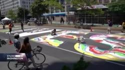 New York: Izrada velikog murala posvećenog rasnoj pravdi