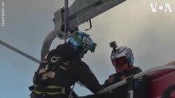 Thực tập cứu hộ trong khu trượt tuyết