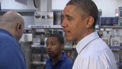 Обама во шопинг