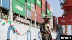 """中國已承諾在巴基斯坦與中國""""一帶一路""""倡議計劃有關的項目。"""