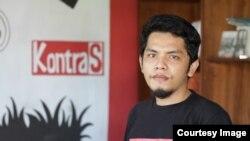 Koordinator KontraS Sumut, Amin Multazam. (Courtesy: KontraS Sumut)