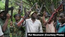Guerrilheiros em Cabinda