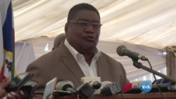 Ossufo Momade, novo líder da RENAMO, diz que o seu partido já não quer guerra