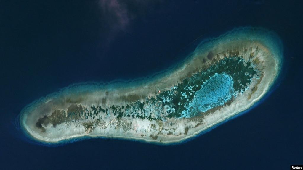 Đảo Đá Lát do Việt Nam kiểm soát ở quần đảo Trường Sa.