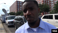Dominique Alexander, founder of Next Generation Action Network, helped organize the Black Lives Matters protest July 7, 2016, in Dallas, a peaceful protest where gunman Micah Johnson killed five police officers. Alexander is shown in Dallas, July 12, 2016