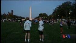 Ветерани АТО взяли участь у 42-му марафоні Морської піхоти США. Відео