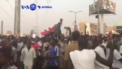VOA60 AFIRKA: A Sudan, Dubun Dubatar Masu Zanga-zanga Sun Taru Suna Kira Da A Mika Mulki Ga Farar Hula