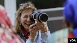 安妮·格里菲斯是最早加入《國家地理》的女攝影師之一。