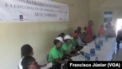 Lançamento da campanha contra tráfico humano em Witbank