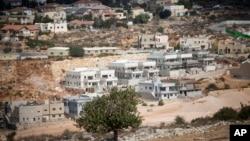 Colonie israélienne orthodoxe de Revava, près de Naplouse en Cisjordanie, le 22 octobre 2016.