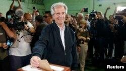 El candidato presidencial Tabaré Vásquez del partido oficialista Frente Amplio obtuvo en la primera vuelta el 47.8 por ciento de los votos.