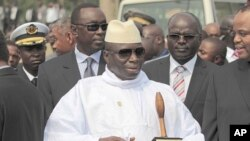 Gambian President Yahya Jammeh (file photo)