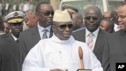 Gambian President Yahya Jammeh (file photo)
